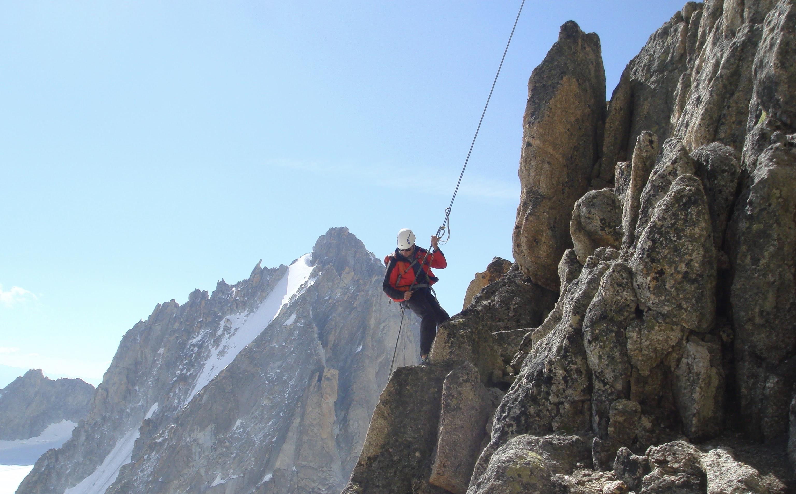 Rock Climbing | Chamonix Mountain Guide
