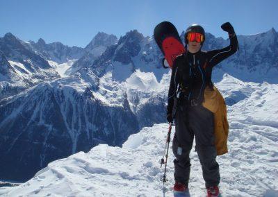 snowboard chamonix