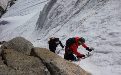 Contamine Negri and Mont Blanc du Tacul