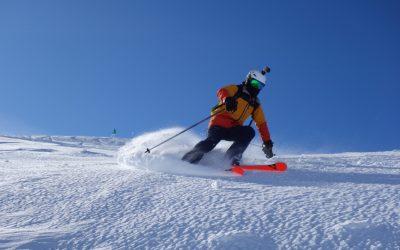 Ski off piste