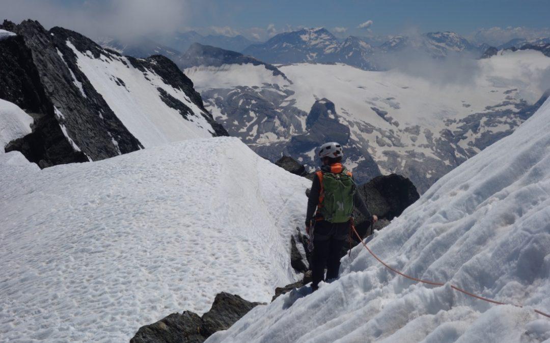 Grand Bec, west ridge
