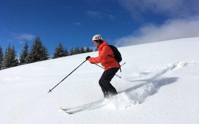 Ski au soleil