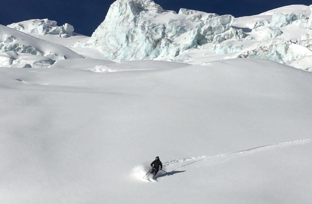 January, great ski