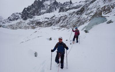 Techniques sur glacier
