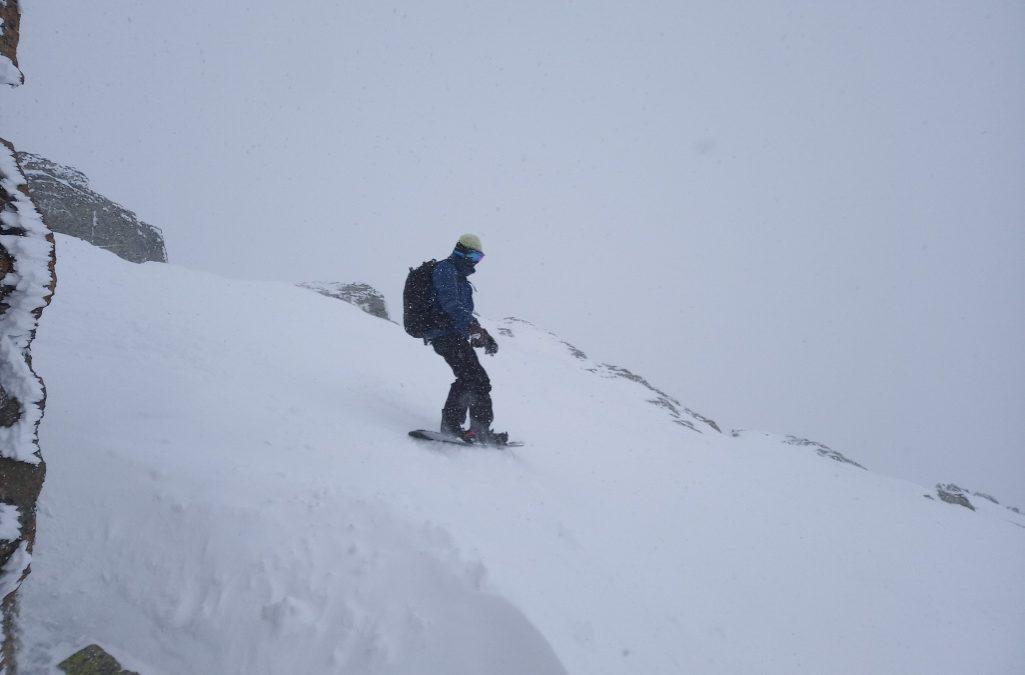 Return of the snow falls