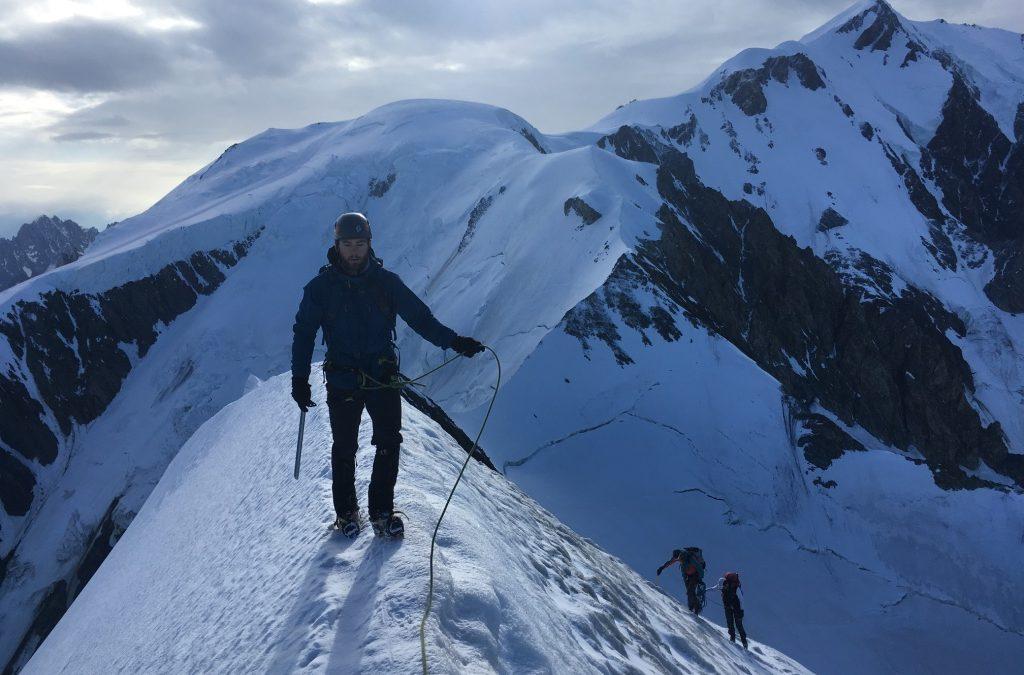Bionnassay ridge