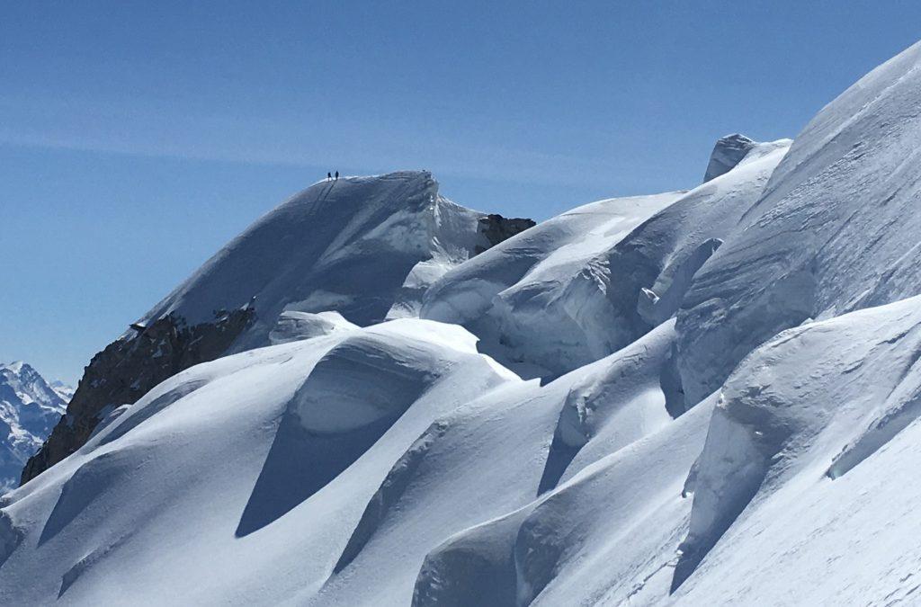 Mont Blanc traverse