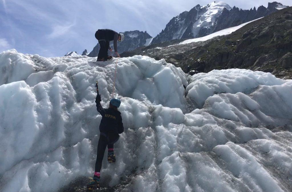 Family ice training