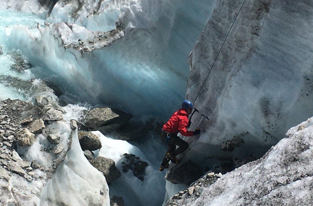 Apprentissage alpinisme